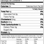 420-Bar-Toffee-Nutrition