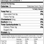 Me-So-Honey-Straw-Nutrition