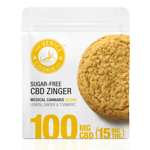 Venice Cookie Company CBD Zinger