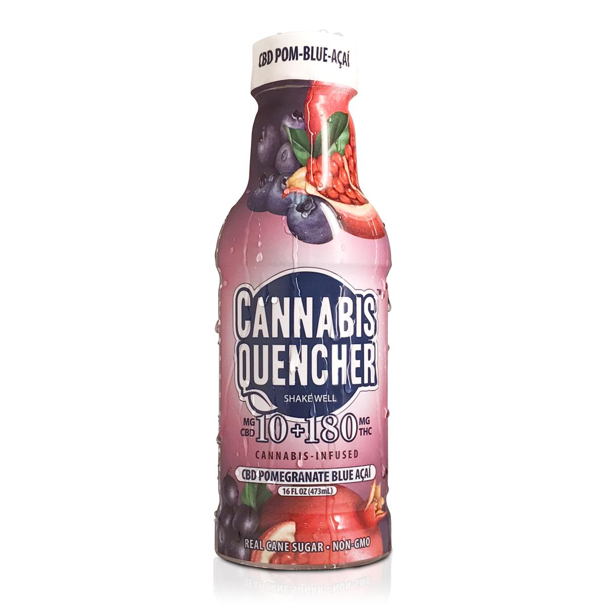 CBD Pomegranate Blueberry Acai Cannabis Quencher