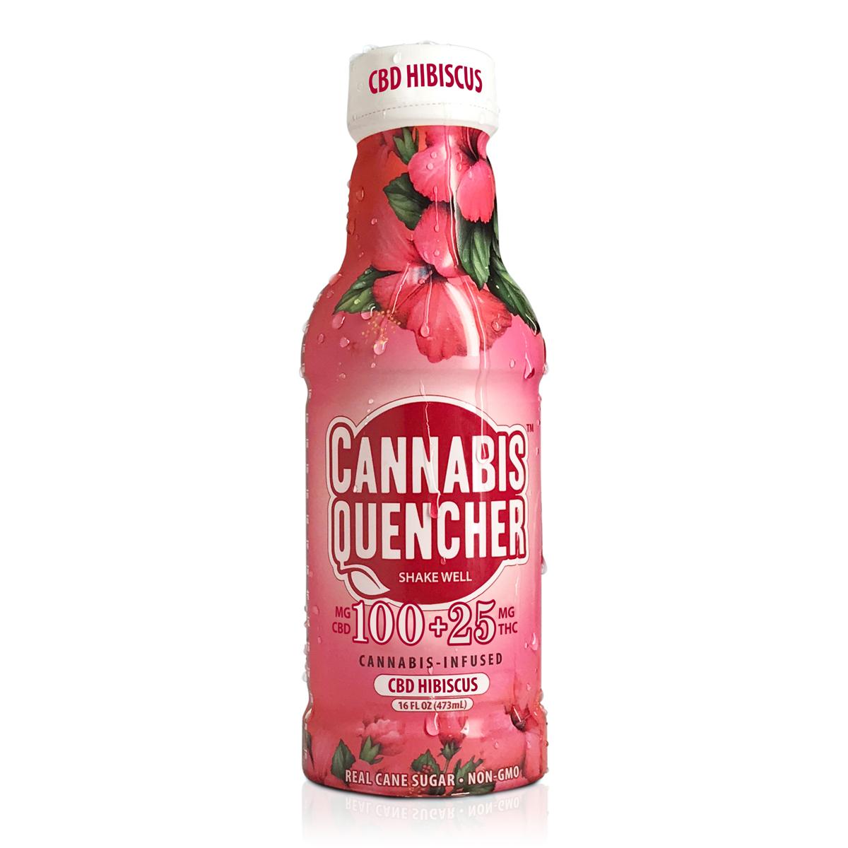 CBD Hibiscus Cannabis Quencher