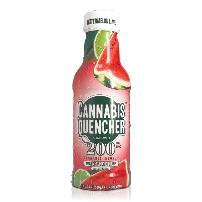Watermelon Lime Cannabis Quencher