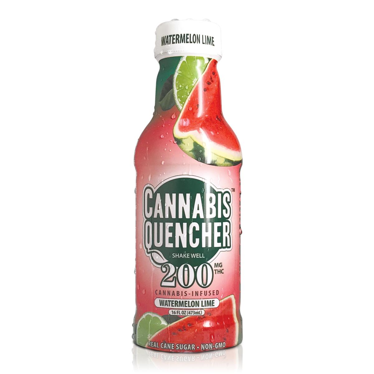 Watermelon Lime Cannabis Quencher