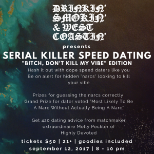 serial killer speed dating